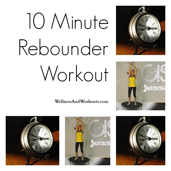 Feeling tired? Rev up your day with this quick, 10 minute workout! Rebounder workouts increase lymphatic flow, energize, and exercise every cell and muscle in your body.