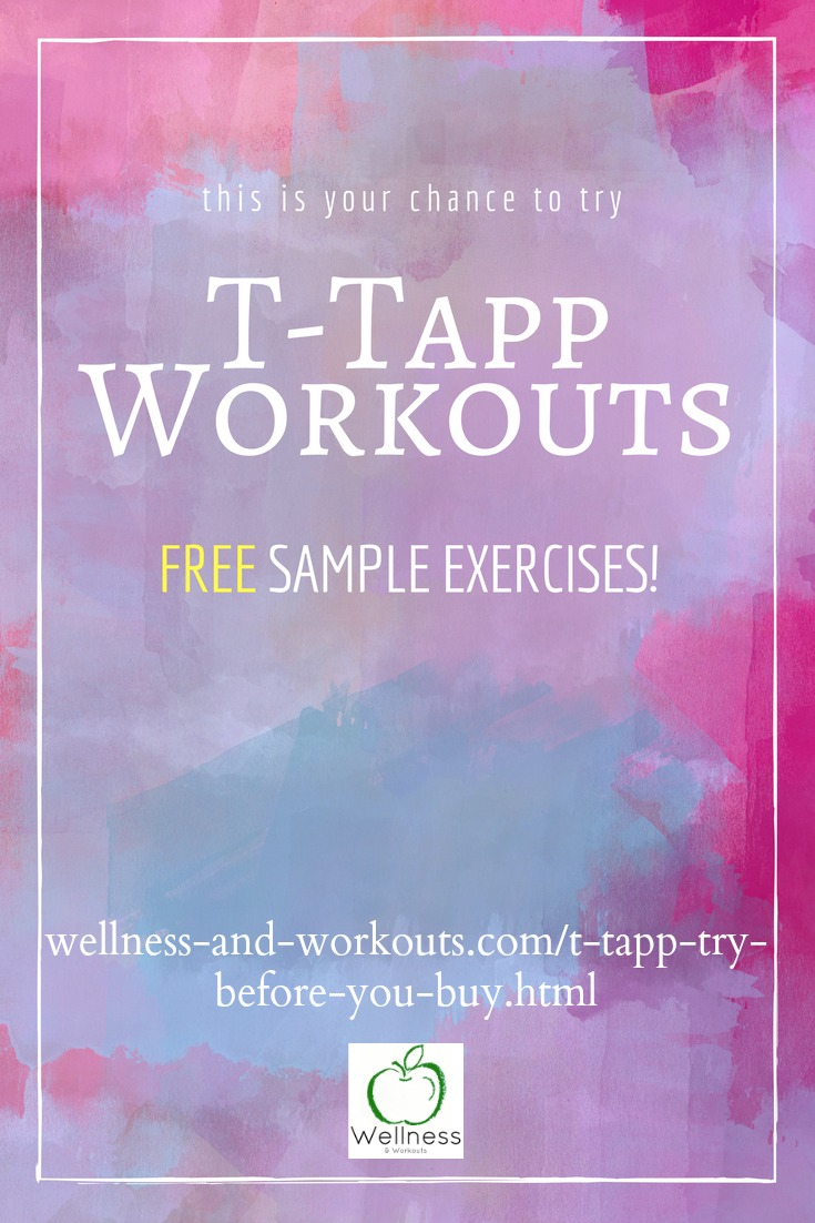 T-Tapp workouts--ever wanted to try one? These workouts will improve your health and get you results without even changing your diet. Now you can try sample exercises before you buy!