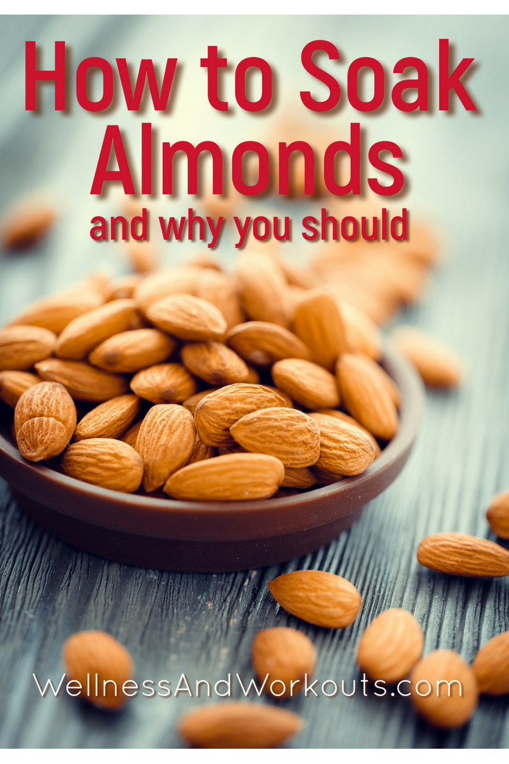 Wondering how to soak almonds, and why you'd want to? Almonds nutrtion is released best when they are soaked in water overnight.