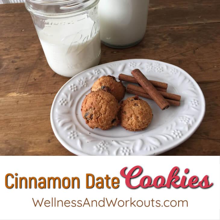 Cinnamon Date Cookies