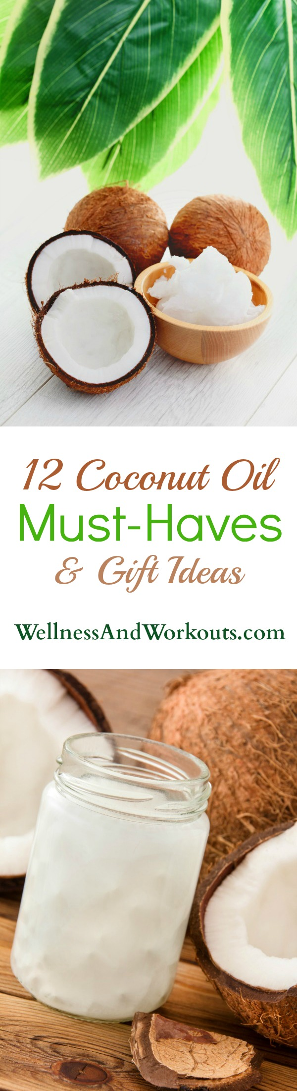 Coconut oil has so many uses--for weight loss, smoothies, DIY natural beauty, cooking and recipes. Here is my list of 12+ must haves and gift ideas for the coconut oil lover!Have you seen #6 before?