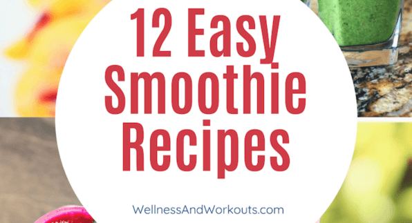 How to make a smoothie? Here are more than 12 terrific ways! Easy recipes with frozen fruit, green smoothies, low-carb for weight loss, with almond or coconut milk. #smoothierecipes #healthysmoothies