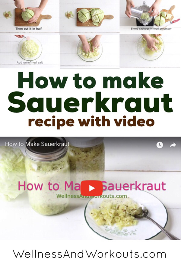 Ever wonder how to make sauerkraut? The simplest and best way is by making fermented sauerkraut. You can make it easily with mason jars.