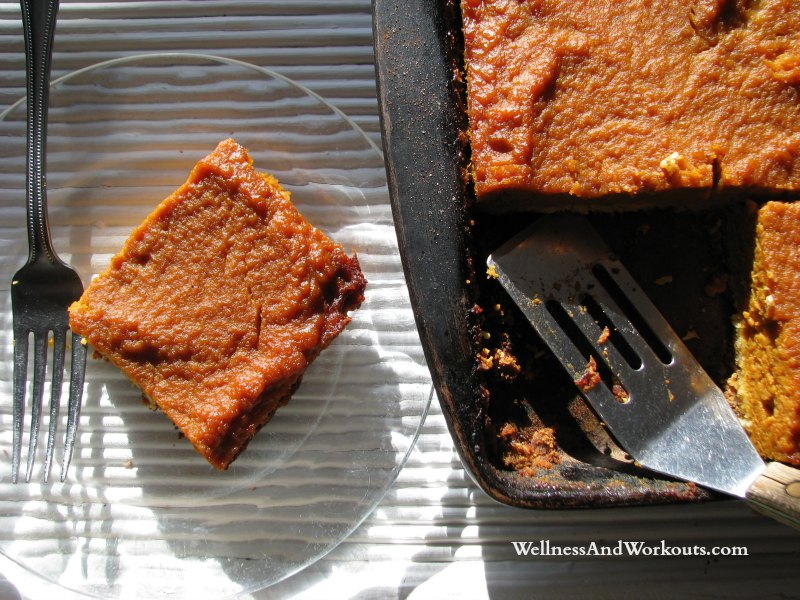 Pumpkin Bar Recipe   Paleo, Primal, GAPS, SCD, Gluten Free, Dairy Free