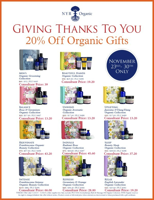 Organic gifts--Here are some examples of what you, as a consultant, might pay during a sale. Your discount becomes available moments after you join. Want to know more? Click now!