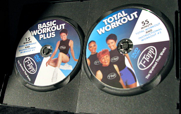 T Tapp Total Workout Discs